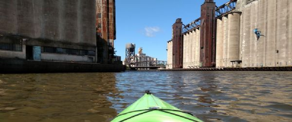 Elevator Alley Kayak Tour