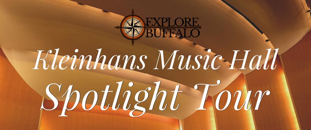 Spotlight Tour: Kleinhans Music Hall