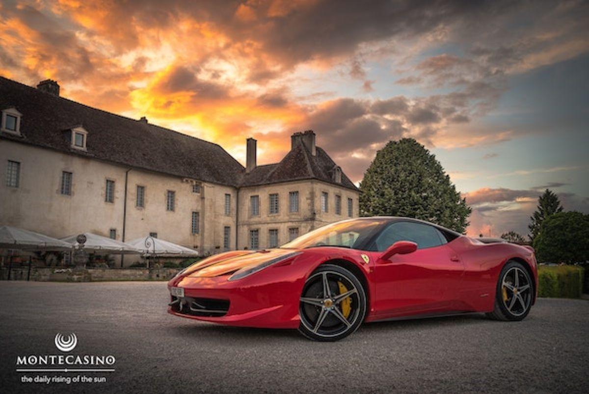 Win a Ferrari