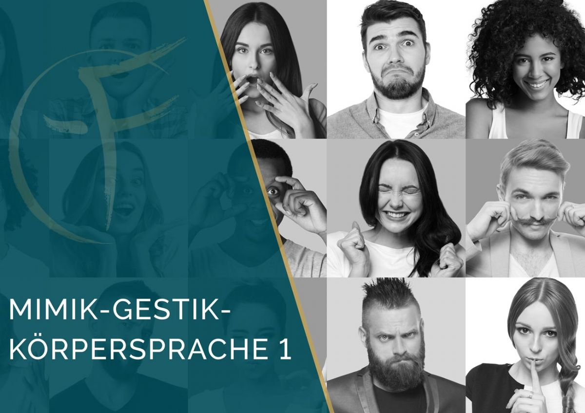 Ausbildung | Mimik-Gestik-Körpersprache 1 |3 Tage | Benjamin Santana | Frankfurt am Main