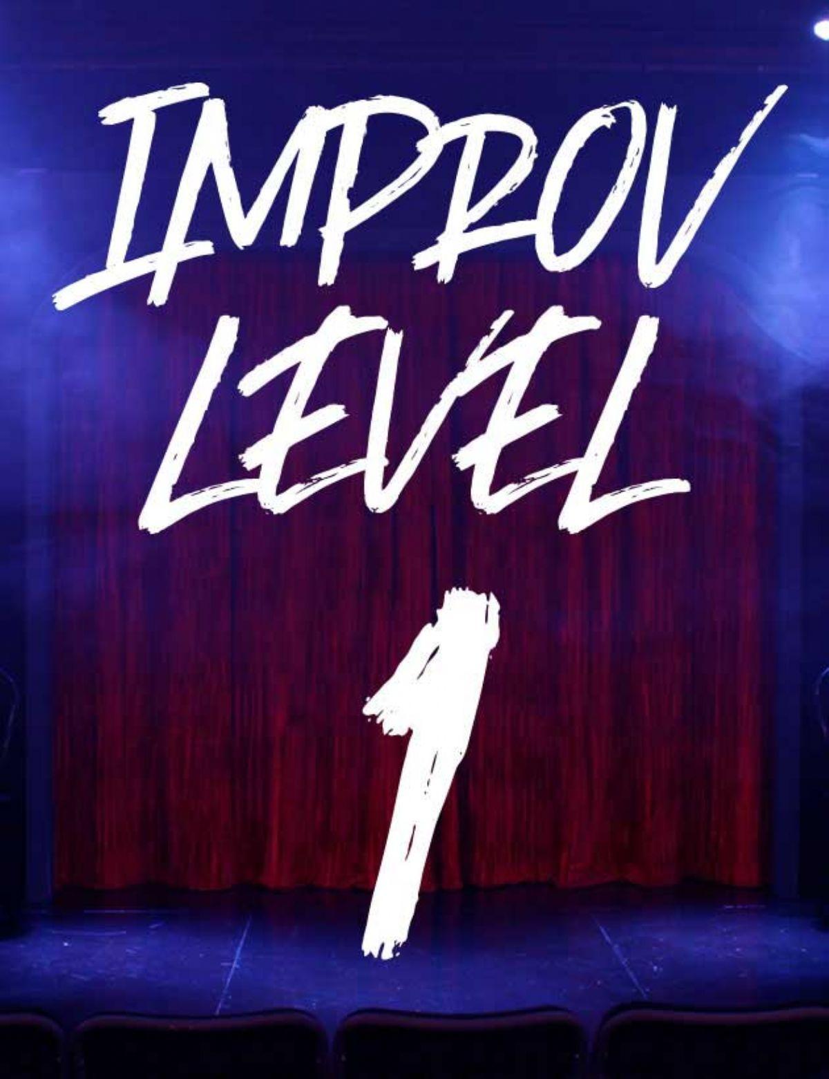 CLASS: Improv Level 1, Mondays w/ Matt (2020-3)