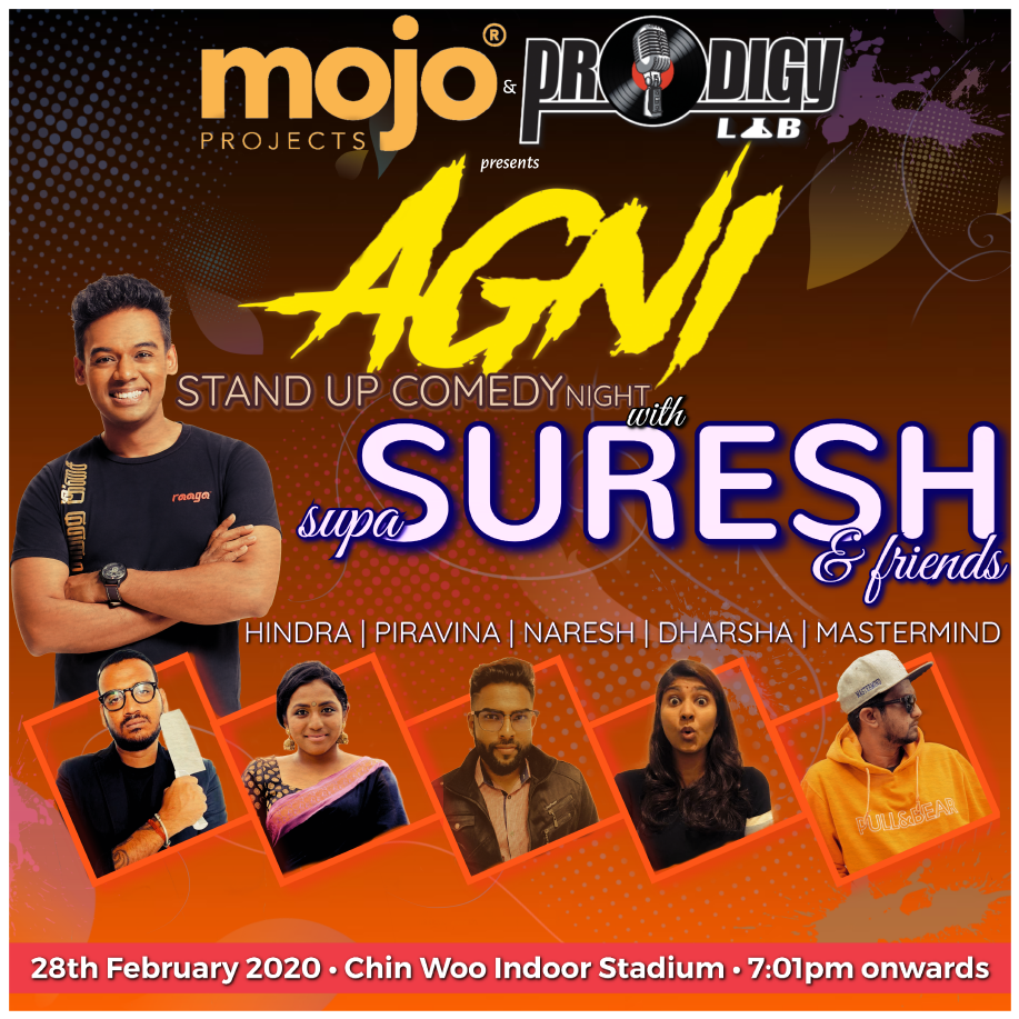 AGNI Stand Up Comedy Night with Suresh & Friends