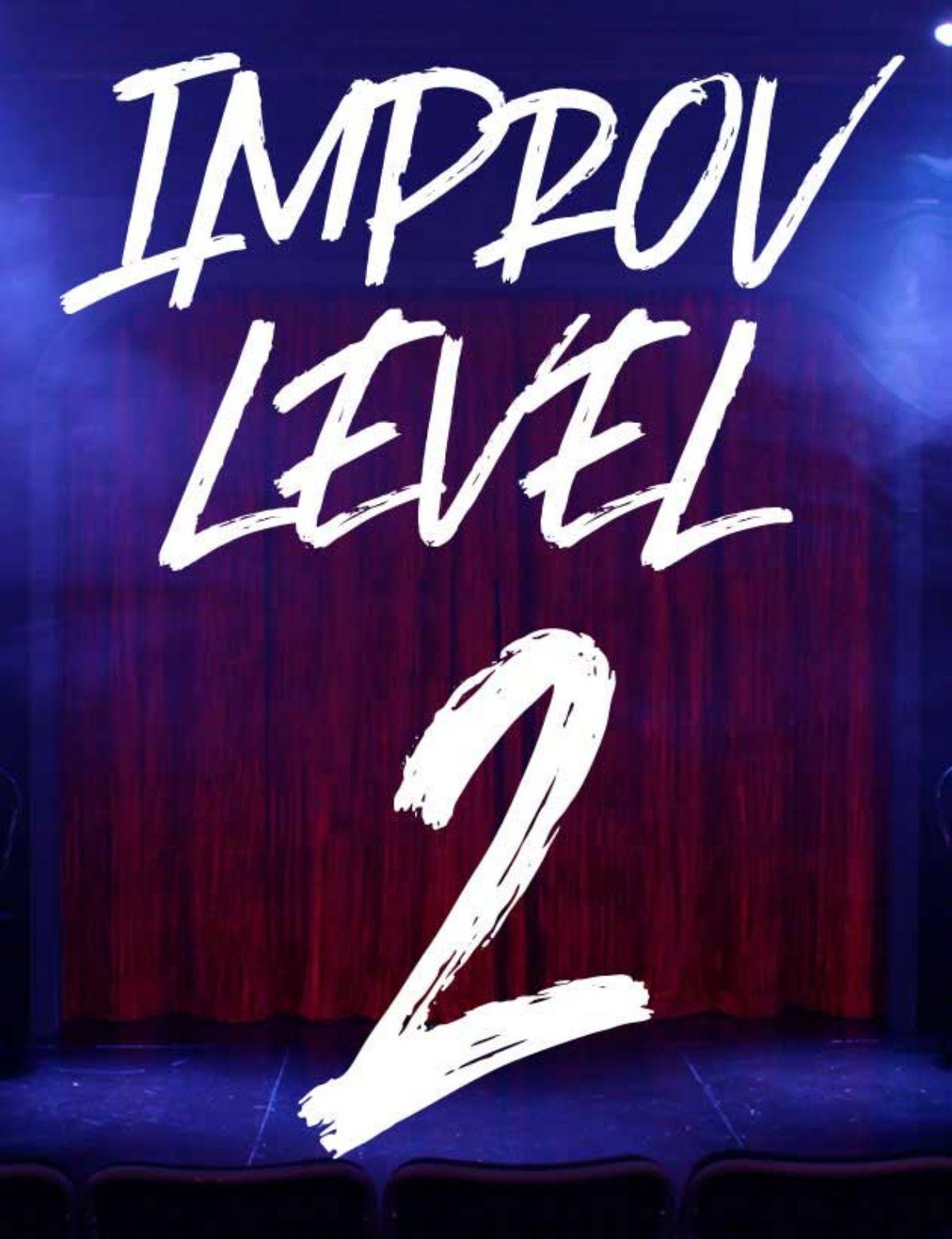 CLASS: Improv Level 2 w/ Molly, Mondays (2020-3)