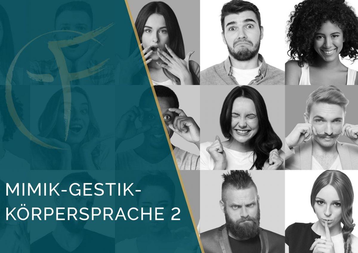 Intensivausbildung | Mimik-Gestik-Körpersprache 2 |2 Tage | Darina Tsokolaeva | Bremen