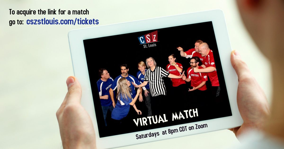 ComedySportz Virtual Match