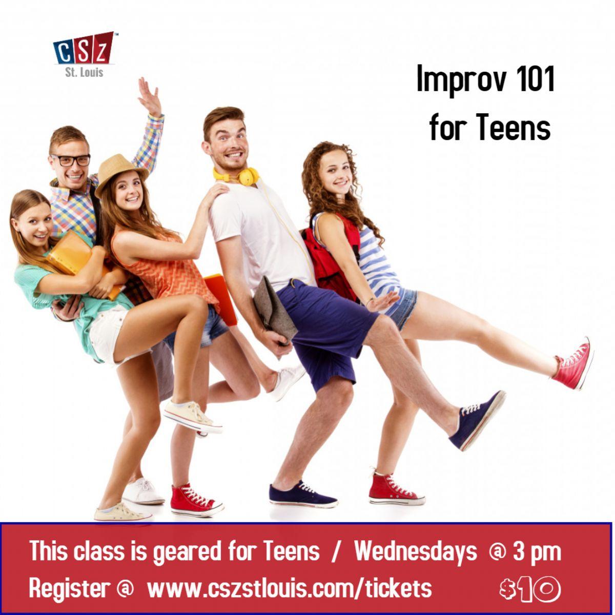 Improv 101 for Teens