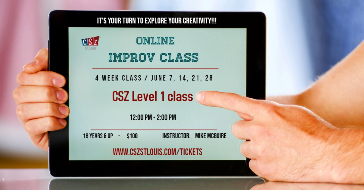 Level 1 - Virtual Improv class