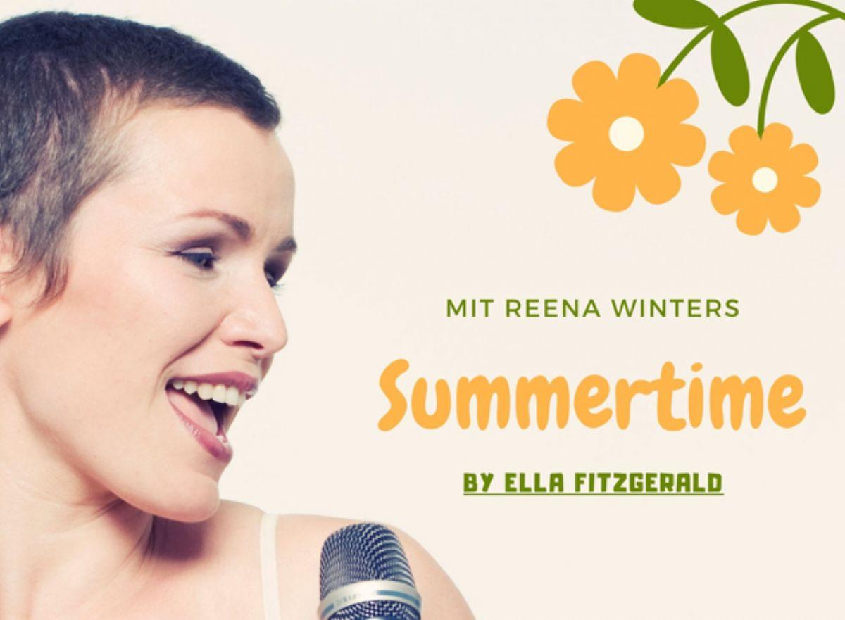 Samstag ins Konzert 2 - Reena Winters sings Ella Fitzgerald's Christmas Songs
