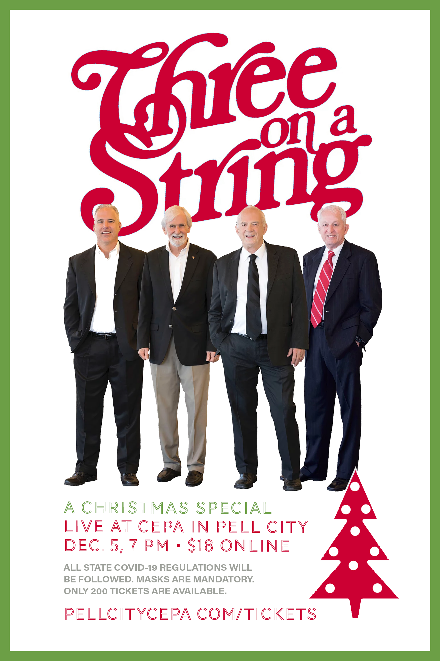 Three on a String: A Christmas Special