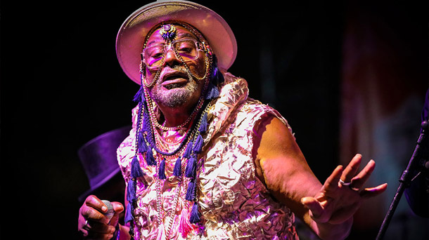 George Clinton at Summer Fest
